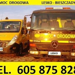 POMOC DROGOWA - ASSISTANCE - LESKO - BIESZCZADY - Firma transportowa Lesko