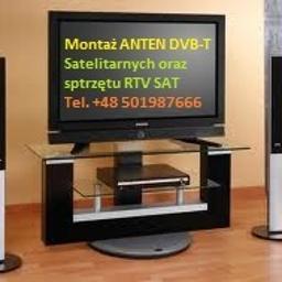 Montaż ANTEN TV SAT 501987666 - Instalacje Głogów