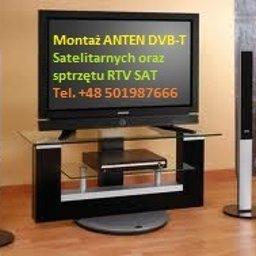 Montaż ANTEN TV SAT 501987666 - Usługi Budowlane Głogów