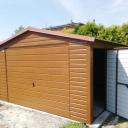Garaże blaszane Limanowa 17