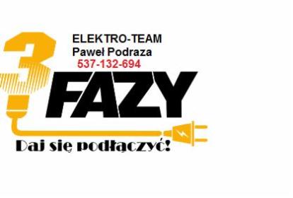 Elektro-Team Paweł Podraza - Wymiana Instalacji Elektrycznej Dębica