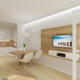 Projekt apartamentu w Niechorzu