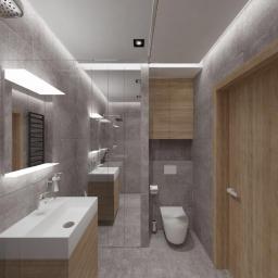 Projekt mieszkania w Poznaniu (02_2019) - łazienka