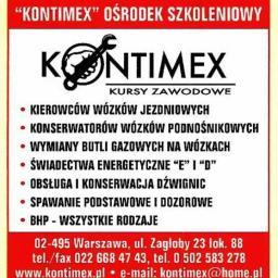 KONTIMEX Ośrodek Szkoleniowy - Ekogroszek Warszawa