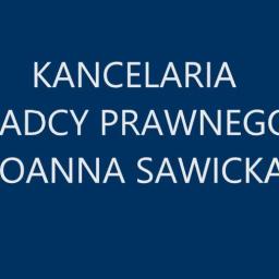 Kancelaria Radcy Prawnego Joanna Sawicka - Radca prawny Lublin