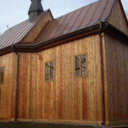 Kościół z modrzewia