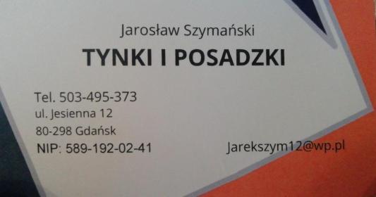 Jarosław Szymański - Ogrodzenia panelowe Gdańsk