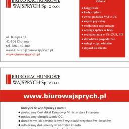 Biuro Rachunkowe Wajsprych Sp. z o.o. - Usługi podatkowe Chorzów