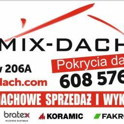 MIX DACH Pokrycia Dachowe - Krycie dachów Siedlce