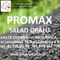 PROMAX Kielce Skład opału - węgiel, miał, ekogroszek - Ekogroszek Kielce