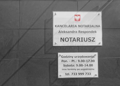Kancelaria Notarialna Aleksandra Respondek - Kancelaria prawna Krapkowice