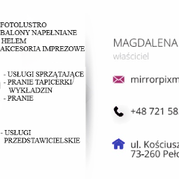 Mirror Pix Magdalena Maćkała - Fotobudka Pełczyce