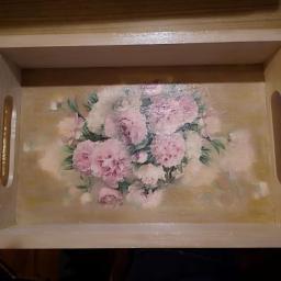 Ozdobne tace do zestawów np.porcelany:)