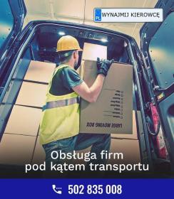 Wynajmij Kierowcę - Firma transportowa Toruń