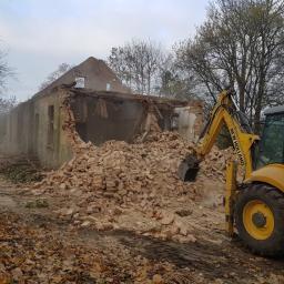 Burzenie budynku