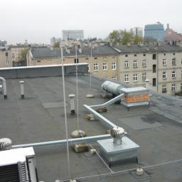 Pokrycia papowe - ułożenia nowej warstwy (budynek gazowni Łódź) 2018