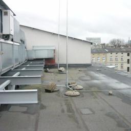 Pokrycia papowe - ułożenie nowej warstwy (budynek gazowni Łódź) 2018