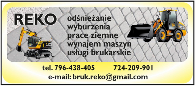 REKO - Wypożyczalnia sprzętu budowlanego Chełmża