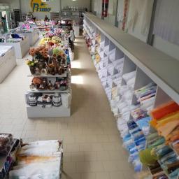 Prima  Market Tekstylny  500 m2 tkanin, obrusów ,firan ,zasłon, ręczników ,pościeli,dodatków najwiekszy skłąd tekstylny na zachodzie Polski !!!!