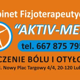 "Gabinet Fizjoterapeutyczny ""Aktiv-Med"" - Akupunktura Lublin"