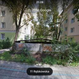 Rozbiurka Altanki śmietnikowej - Warszawa, Praga Południe