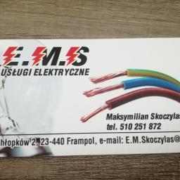 Usługi elektryczne E.M.S - Bramy Frampol