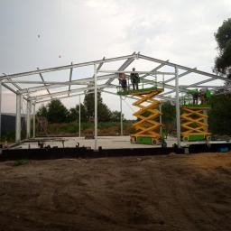 Budynek techniczno-gospodarczy projekt i realizacja