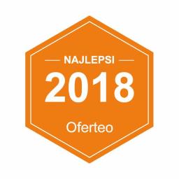 Miło mi poinformować, że otrzymałem nagrodę Najlepsi 2018 za znakomite opinie od moich Klientów. Dziękuję za uznanie i zachęcam do przeczytania, co Klienci napisali w Oferteo.pl.