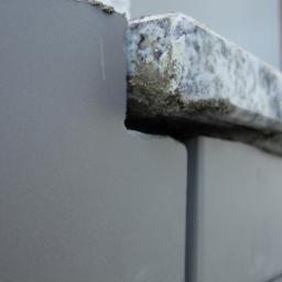 Przykład montażu progu balkonowego z kapinosem