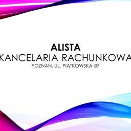 ALISTA Kancelaria Rachunkowa Alina Stachowiak - Rozliczanie Podatku Poznań