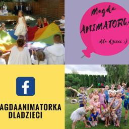 Magda ANIMATORka dla dzieci Animacje na wesela urodziny - Balony z helem Toruń