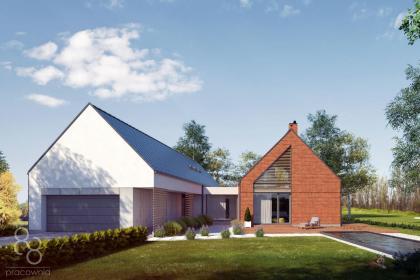 PRACOWNIA 88 Autorska Pracownia Architektoniczna Agata Tkocz - Projekty Domów z Poddaszem Żory