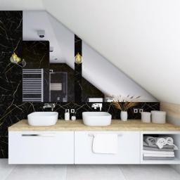 Mieszkanie na poddaszu - łazienka