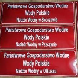 Profesjonalne tablice urzędowe