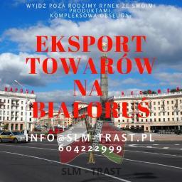 Eksportujemy towar na Białoruś