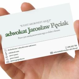 Wrocław adwokat Jarosław Pęciak