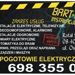 Bart-Elektro - Instalacje Budowlane Ruda talubska