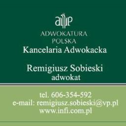 Kancelaria Adwokacka Remigiusz Sobieski - Prawo budowlane Poznań