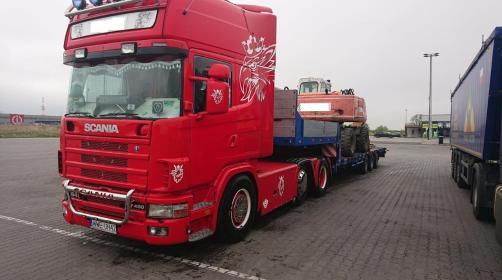 Usługi transportowe Daniel Derlatka - Transport ciężarowy krajowy Słubica a