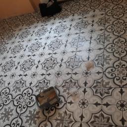 Remont łazienki Łopuszno 1