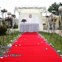 Ślubny namiot