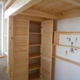 Schody drewniane Mrozy 12