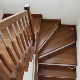 Schody drewniane Mrozy 10