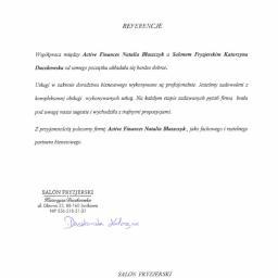 Active Finances Natalia Błaszczyk - Szkolenia menedżerskie Bydgoszcz