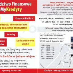 MyKredyty - Kredyty Konsolidacyjne Łódź