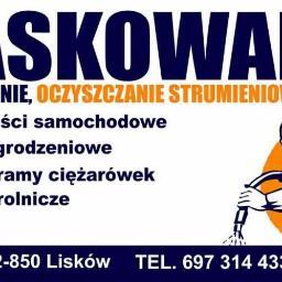 PIASKOWANIE - Przemysław Piorunowski - Piaskowanie Konstrukcji Swoboda