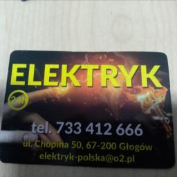Elektryk Głogòw 24 h Firma E.G - Klimatyzacja Głogów