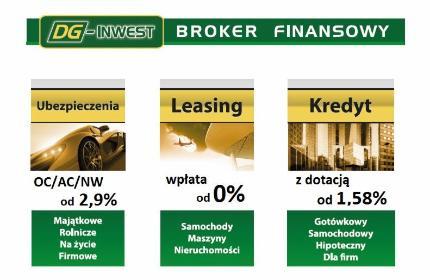 DG-INWEST FINANSE S.A. Placówka Partnerska w Sandomierzu - Kredyt dla firm Sandomierz