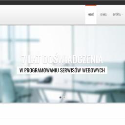 """Moja firmowa strona www <a href=""""https://genius-dev.pl"""" target=""""_blank"""">genius-dev.pl<a/>. Zobacz co mogę zrobić dla Twojego biznesu!"""