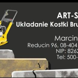 ART-STONE Marcin Zając - Układanie kostki granitowej Górzno